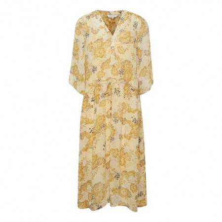Part Two - Cassia Dr - Multi Flower Print Yellow