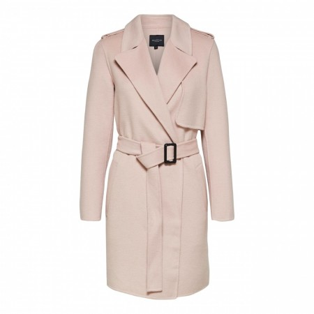 Selected Femme - Slftana Short Coat - Rose Dust