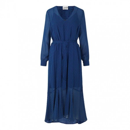JUST - Milou Maxi Dress - Dark Denim