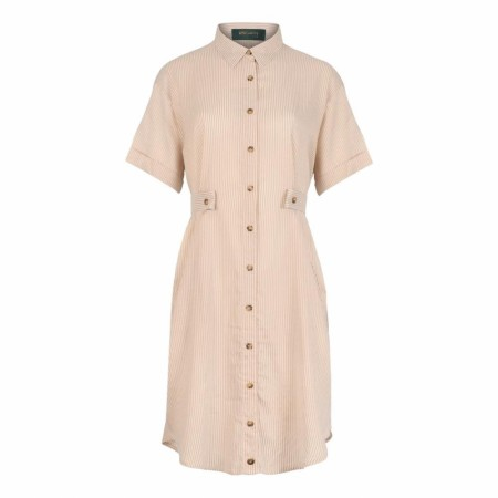 Iis Of Norway - Thilde Shirt Dress - Sand Stripe