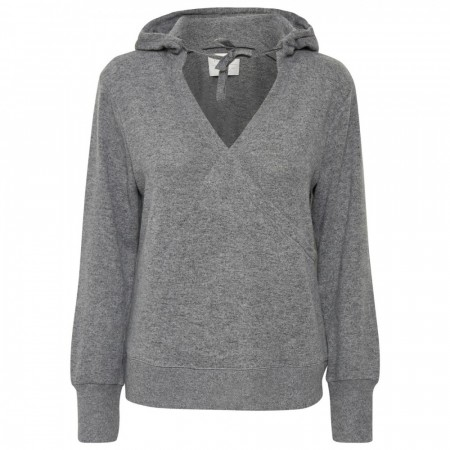 Part Two - Olgie Hoodie - Medium Grey Melange