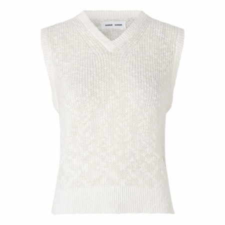 Samsøe Samsøe - Zoey Vest - Antique White
