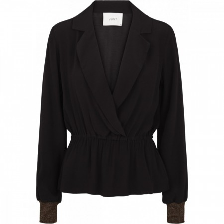 Just Female - Lauren Blouse - Black
