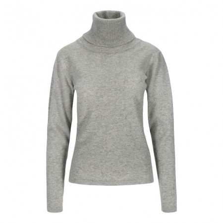 Close To My Heart - Bliss Turtleneck - Grå