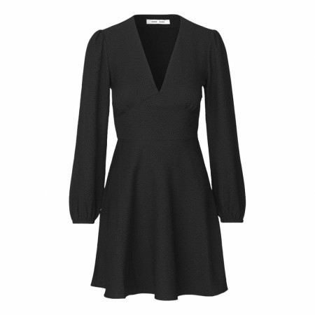 Samsøe Samsøe - Cindy Short Dress Ls 7947 - Black