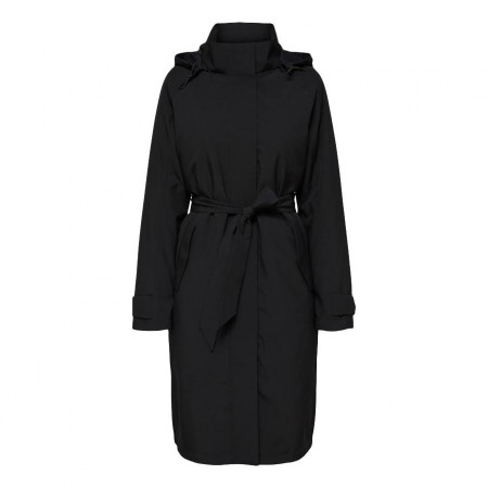 Selected Femme - Slfrasini Tech Coat - Black