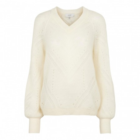 Just Female - Garla Knit - Off-White