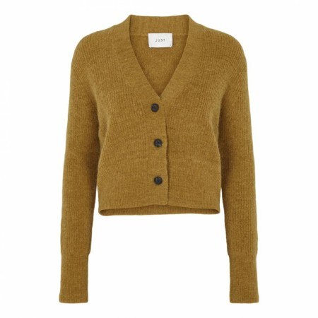 Just - Rebelo Knit Cardigan - Dreid Tabacco