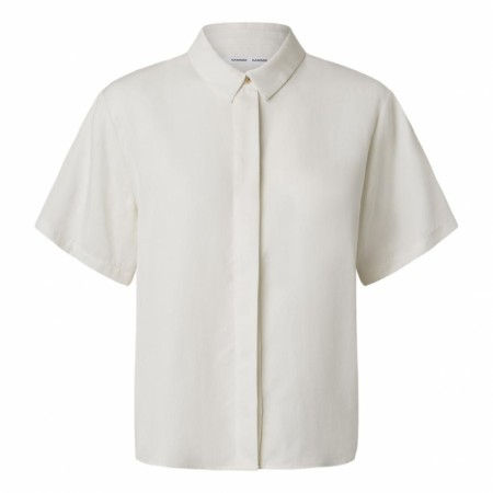 Samsøe Samsøe - Mina SS Shirt 14028 - Antique White