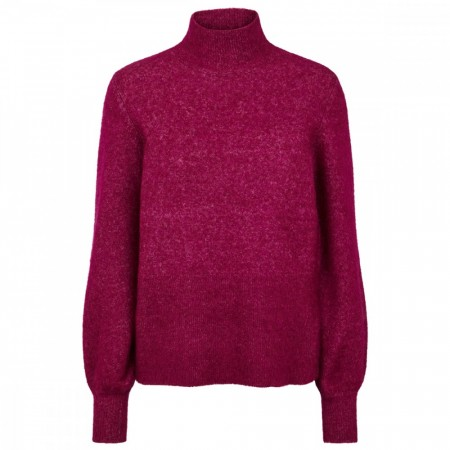 Just Female - Theo Knit - Magneta Plum