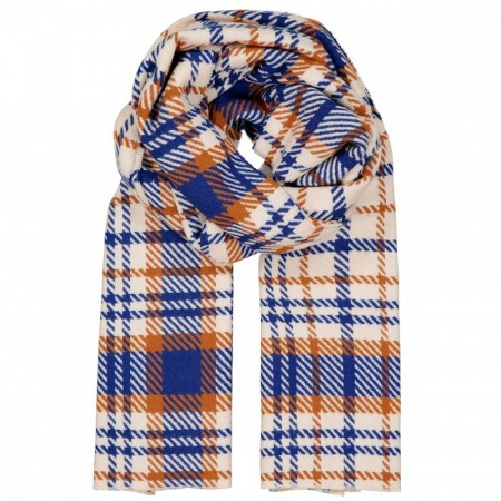 Samsøe & Samsøe - Accola Long Scarf 2862 - Blue Check