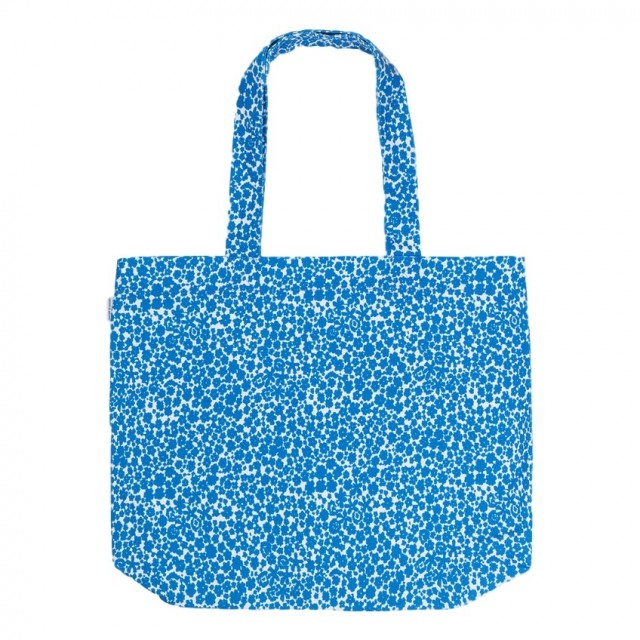 Samsøe & Samsøe - Canvas Shopper Aop 10833 - Blue Buttercup