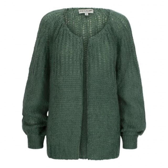 Close To My Heart - Alice Cardigan - Sage