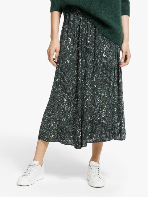 Just Female - Christie Skirt - Green Snake