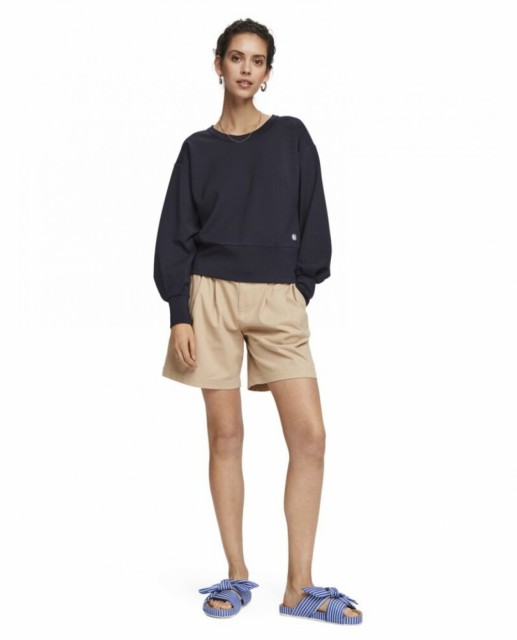 Maison Scotch - Chic Crewneck Sweat - Blå
