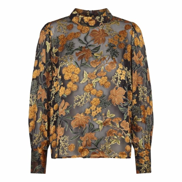 Just - Mirador Blouse - Golden Flower