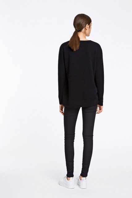 Samsøe & Samsøe - Boston V-neck 6304 - Black