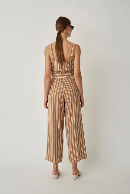 JUST - Wendy Trousers - Thrush Stripe