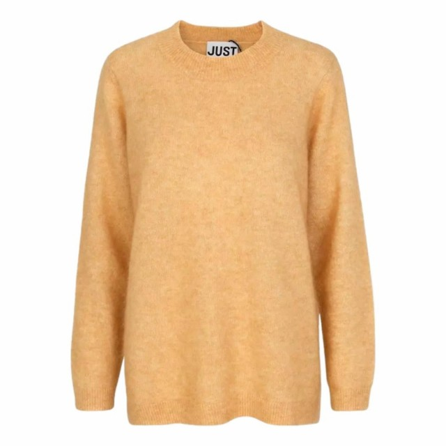 JUST - Code Knit - Spruce Yellow