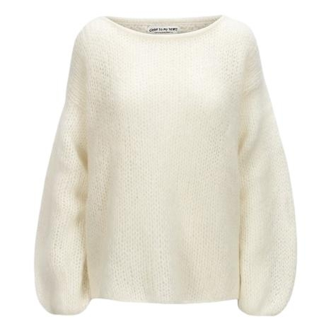 Close To My Heart - Adele Sweater - Off-White