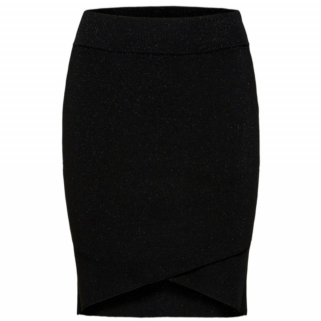 Selected Femme - Slftera Hw Knit Skirt - Black