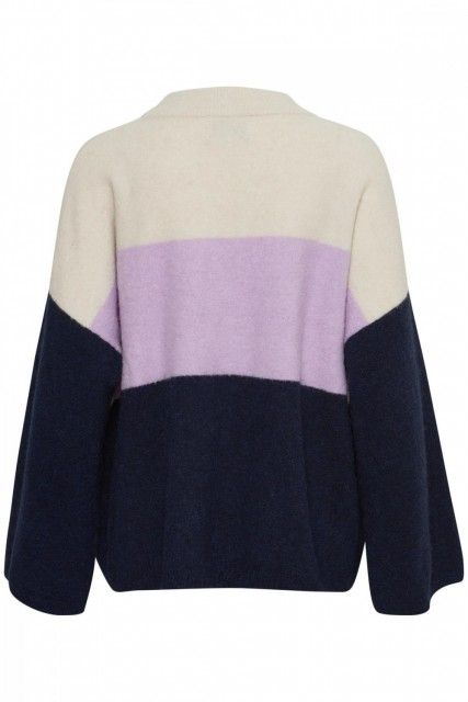 Part Two - Neeja Pullover - Artwork Light Purple