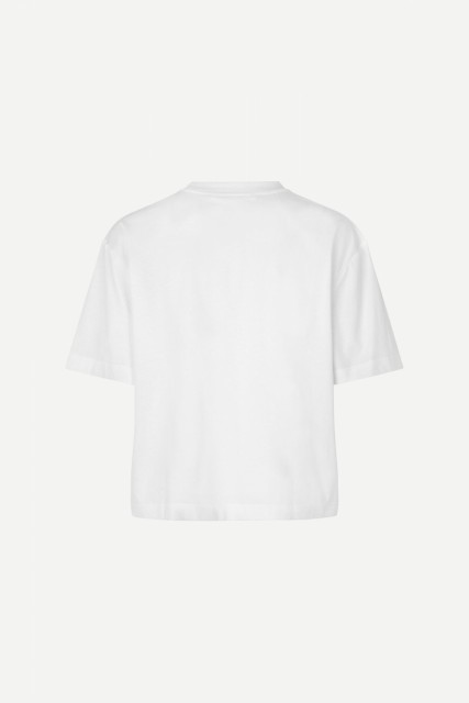 Samsøe Samsøe - Chrome T-shirt 12700 - Bright White