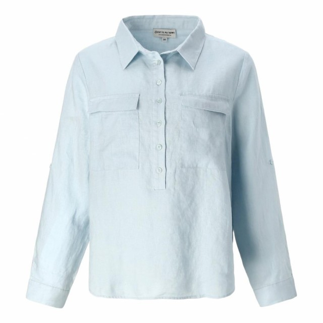 Close To My Heart - Libby Shirt - Baby Blue