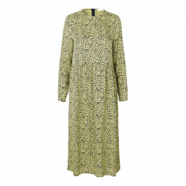 Samsøe & Samsøe - Raven Dress Aop 8325 - Yellow Buttercup