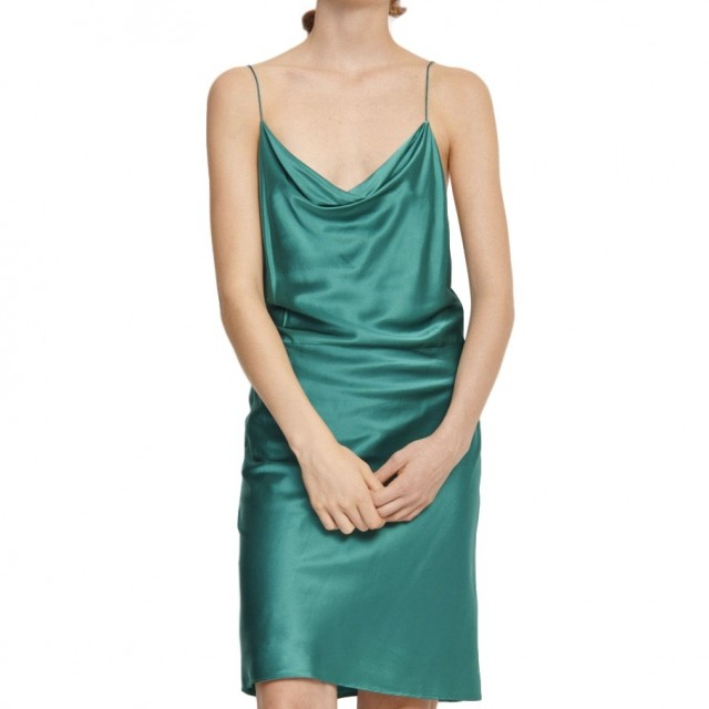 Samsøe & Samsøe - Appels S Dress 9697 - Quetzal Green
