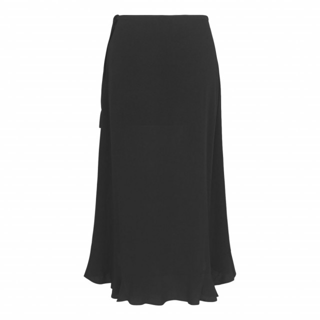 Samsøe & Samsøe - Limon L Wrap Skirt 6515 - Sort