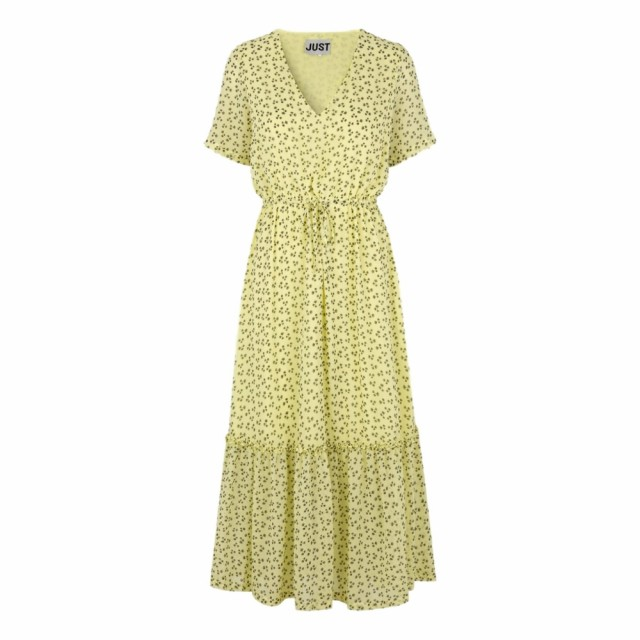 JUST - Percy Maxi Dress - Palm aop.