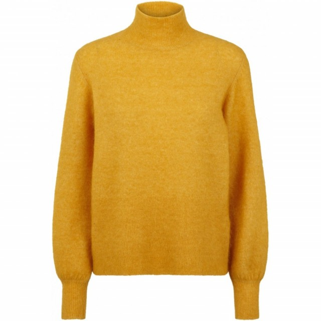 Just Female - Theo Knit - Golden Yellow