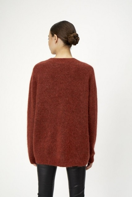 Just Female - Code Knit - Red Ochre