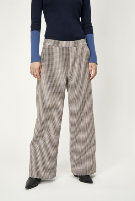 Just Female - Vienna Trousers - Vienne Houndstooth
