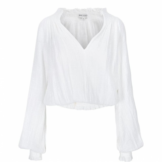 Close To My Heart - Gisele Blouse - Hvit