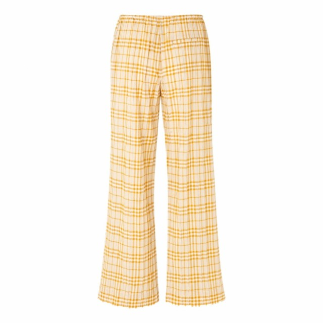 Samsøe Samsøe - Vimo Trousers 11454 - Honey Check