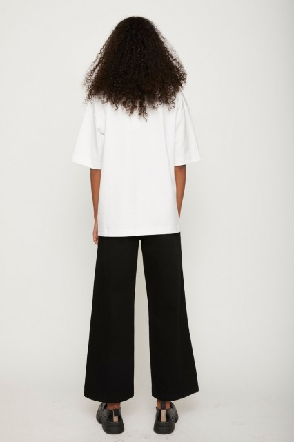 JUST- Kyoto Long Tee - White