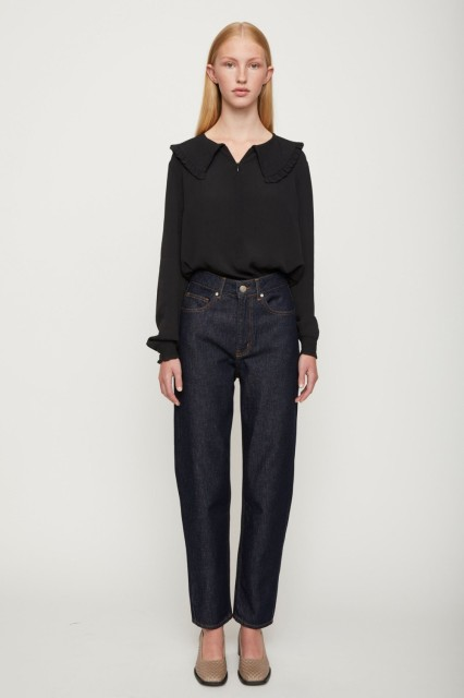 JUST - Lima Blouse - Sort