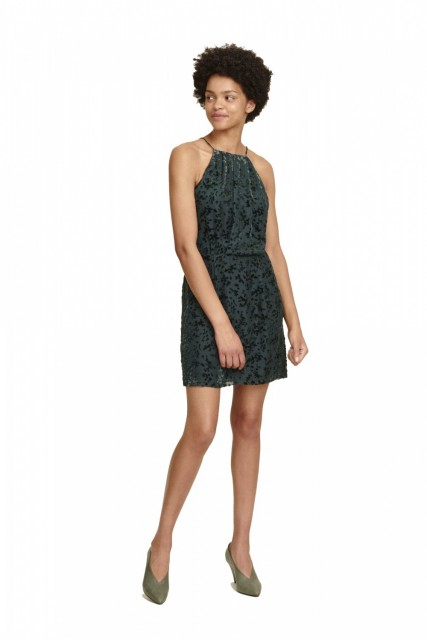 Samsøe & Samsøe - Willow S Dress 10443 - Darkest Spruce