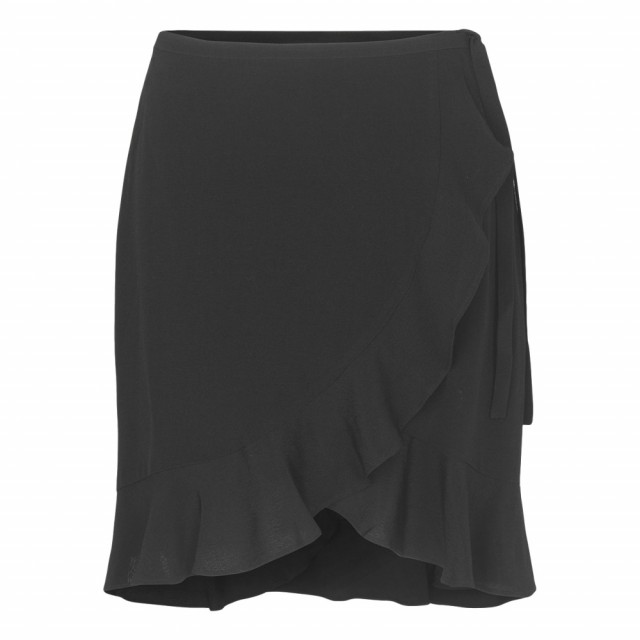 Samsøe & Samsøe - Limon S Wrap Skirt 6515 - Sort