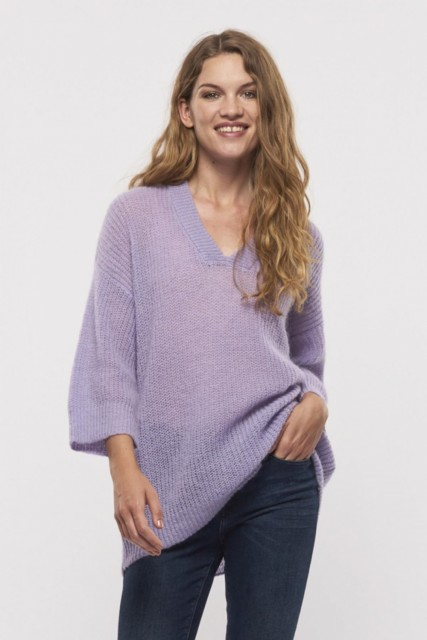Part Two - Ninka Pullover - Pastel Lilac