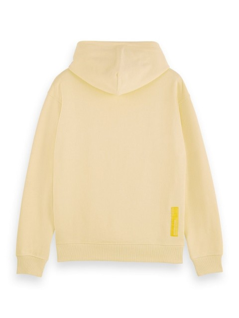 Maison Scotch - Unisex Hoody In Organic Cotton - Gul